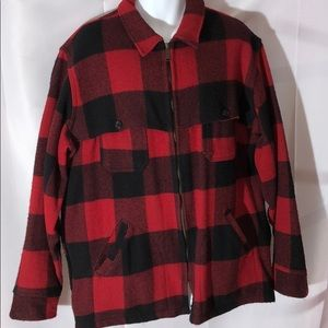 Vintage Woolrich Buffalo Plaid Coat